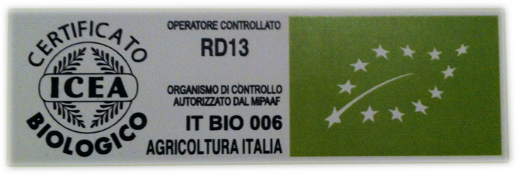 logo biologico rubino